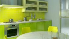 conception de cuisine verte