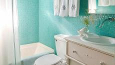 design vert anis salle de bain