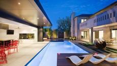 poolhouse en plein air aménagement extérieur moderne