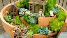 3 réaliser un joli mini jardin