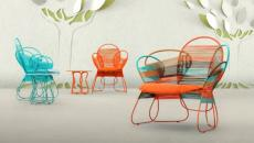 salon de jardin design par Kenneth Cobonpue