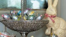 panier à œufs couleur métallique