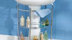 Gagne de place grâce à ce rangement salle de bain original