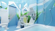 Salle de bain design Play in the Lake
