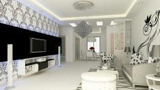 salon contemporain design éclectique