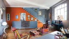 couleurs pétillantes pour ce séjour design