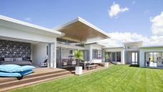 Terrasse en bois en tant que prolongation de la maison