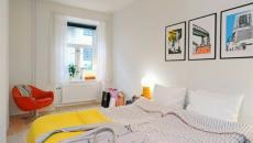 Décoration et design scandinave pour chambre à coucher