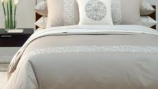 Chambre à coucher de design sobre