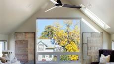 Chambre design aux hauteurs de plafond design