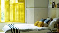 Simplicité et jaune ensoleillé pour un dépaysement total