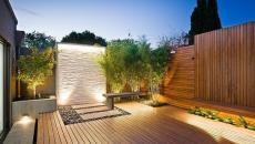 aménagement extérieur classique coté jardin