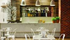 cuisine moderne et rustique
