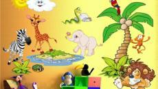 4 décoration avec stickers muraux spécial chambre bébé