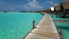 Hôtel de luxe aux Maldives
