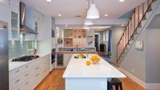 ilot central de cuisine design minimaliste