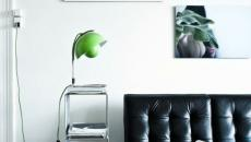 lampe de table flowerpot vert