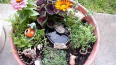 4 réaliser un joli mini jardin