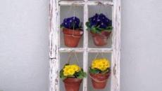 Décoration originale en pots de fleurs