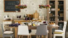 salle à manger au joli design