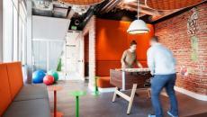 nouveau design des bureaux Google