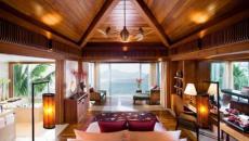 chambre a couher design tout en bois
