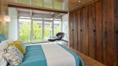 Chambre à coucher design bois
