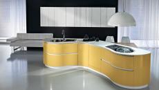 Modernité conjuguée en blanc & jaune