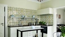design style retro annees 80 cuisine moderne