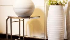 Vases blancs originaux pour une déco maison unique