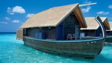 Les barques typiques pour les Maldives