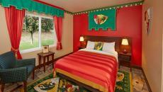 Chambre aventure de l'hôtel design Lego