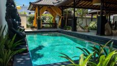 jardin intérieur magnifique villa bali