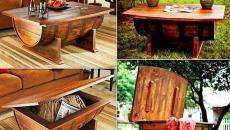 Meuble original table basse/ coffre de rangement