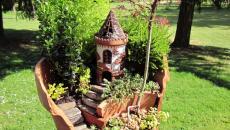 5 réaliser un joli mini jardin