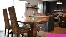 salle à manger après rénovation à petit prix