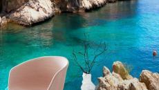 Paysage méditerranéen à l'eau turquoise