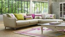 Canapé d'angle design par Roche Bobois