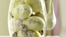 oeufs pour déco de Pâques