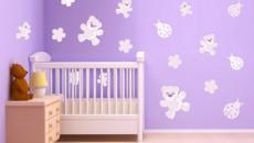 6 décoration avec stickers muraux spécial chambre bébé