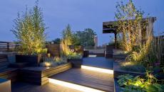 Luminaire jardin et espace outdoor coquet