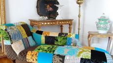 Méridienne « patchwork » pour une décoration intérieure unique