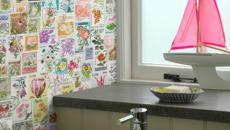 Papiers peints aux mille étiquettes