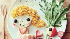 repas équilibré pour les enfants filles