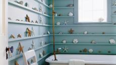 Salle de bain au design marin