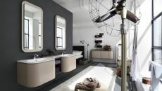 salle de bain au design plus classique