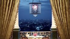 Diner romantique dans un hotel de luxe