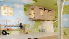 Décoration chambre enfant inspiration écolo