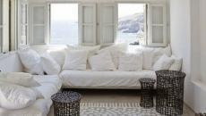 Petit séjour décoré par un tapis salon dessiné