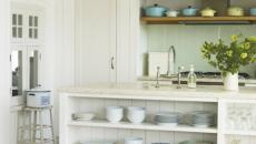 7 cuisine bois blanc plaque